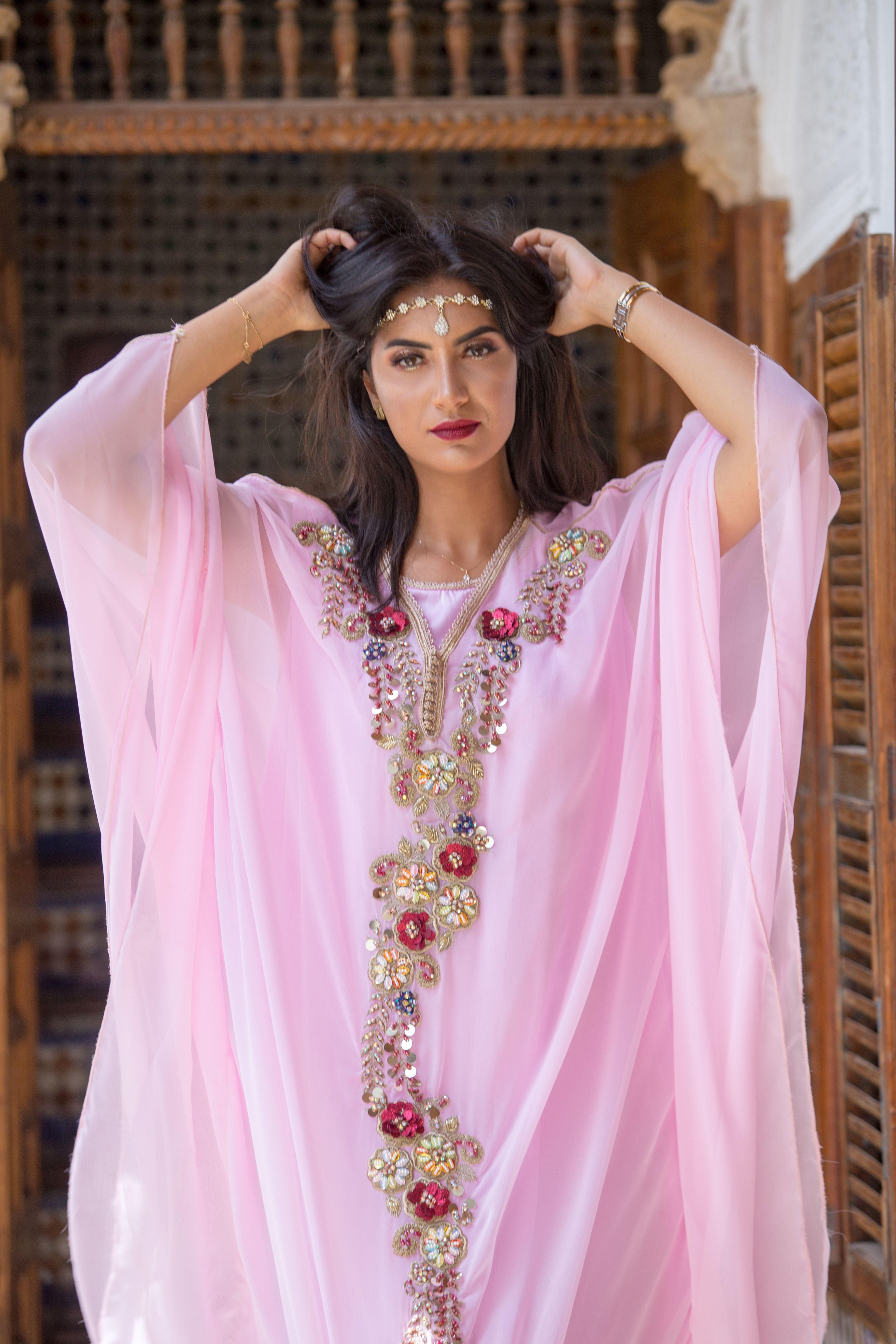 Caftan Prestige Robe marocaine, Idées de mode, Caftan