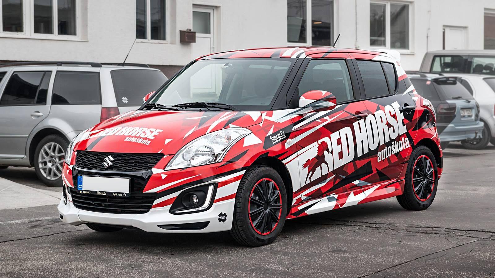 Car design sticker rally - Suzuki Swift Rally Design