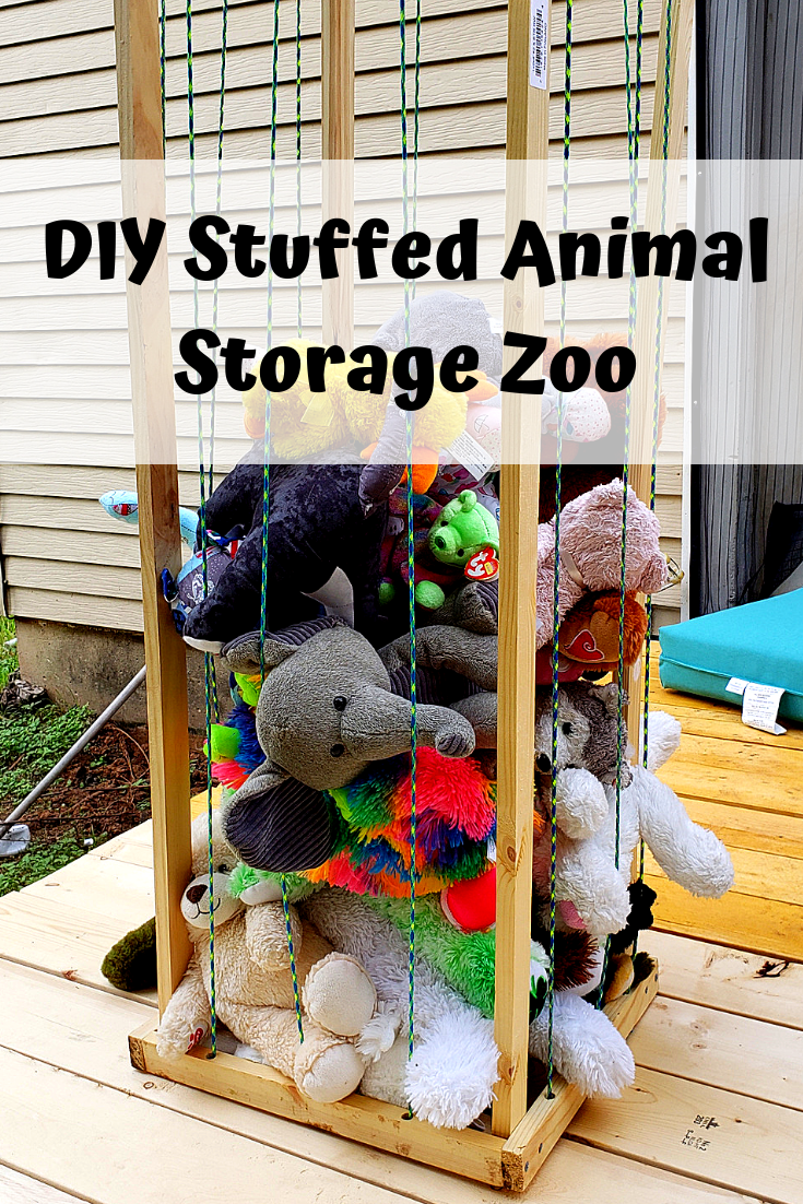 how to build a stuffed animal zoo