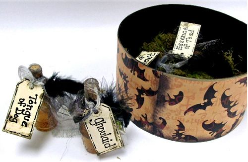 Witch Spell Box Witches, Tutorials and Box - halloween crafts decorations