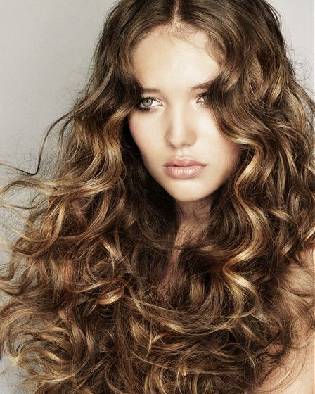 Spiral Perm Long Hairhairsalonss Images Perms