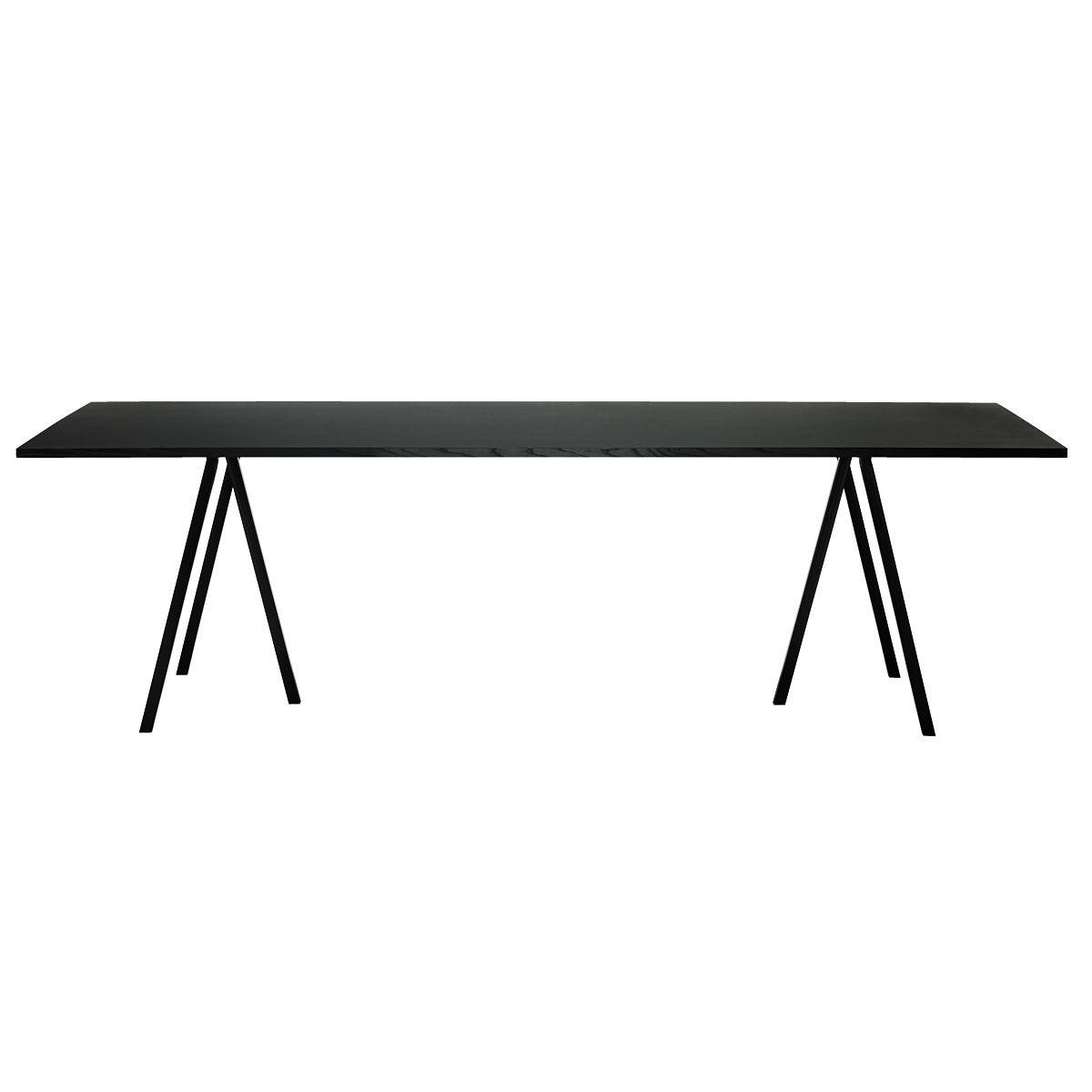Hay Tischböcke hay loop stand table 180 black desks interiors and room