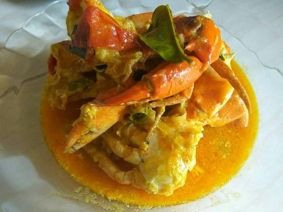Kepiting Kuah Santan By Melfiadeni Crab Recipe Masakan Kepiting Resep Resep Makanan Resep Kepiting Kepiting