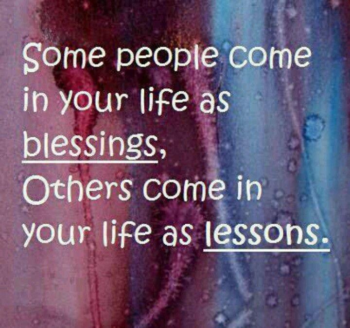 Lesson, blessing