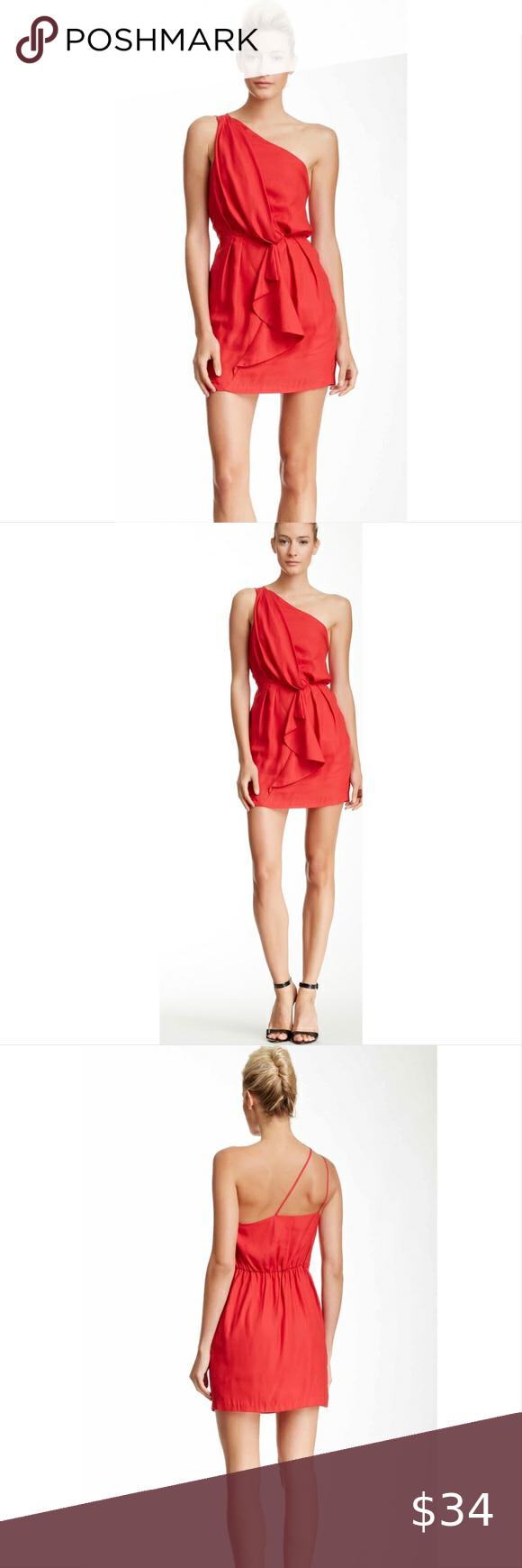 50+ Cerise one shoulder dress trends