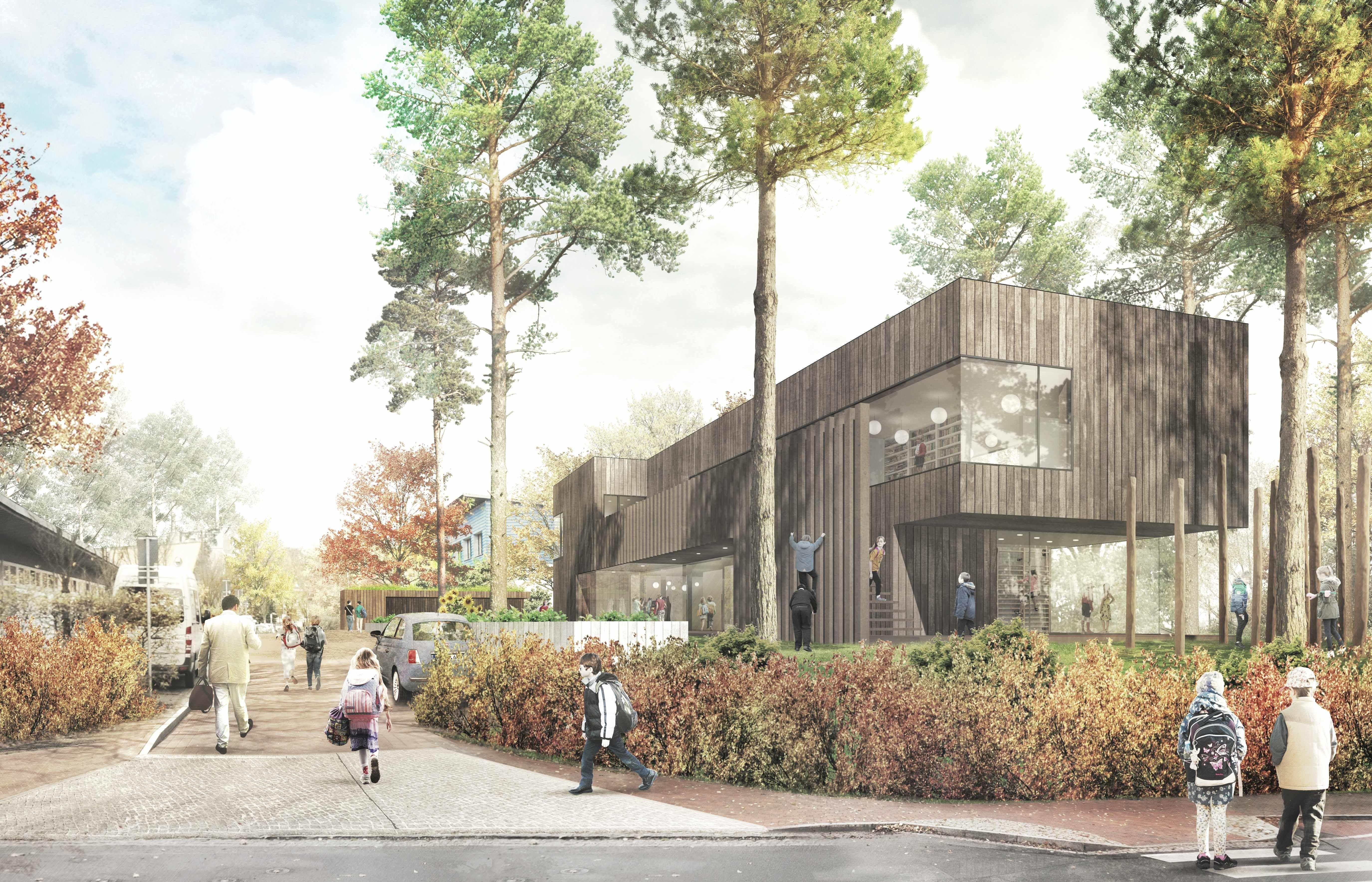 1. Preis: 1.Preis, Perspektive, © KiS Architektur mit rabe landschaften | landschaftsarchitektur. stadt- und raumforschung #arquitectonico