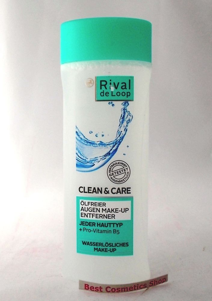 Rossmann Rival De Loop Clean Care Eye Make Up Remover Oil Free