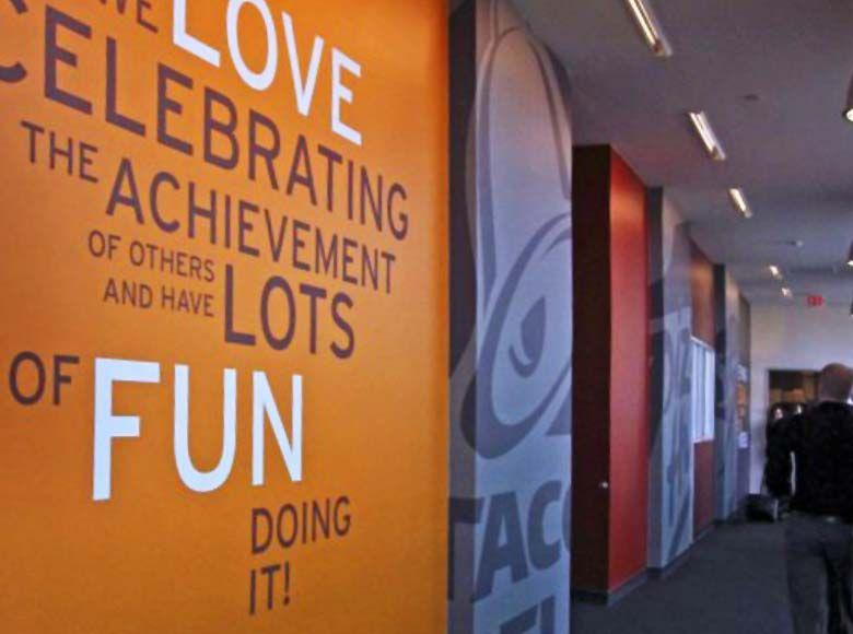 Pizza Hut Headquarters Portfolio With Images Office Feature