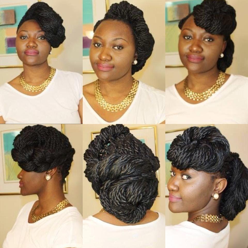 Box braids or twist hairstyles special occasion braids
