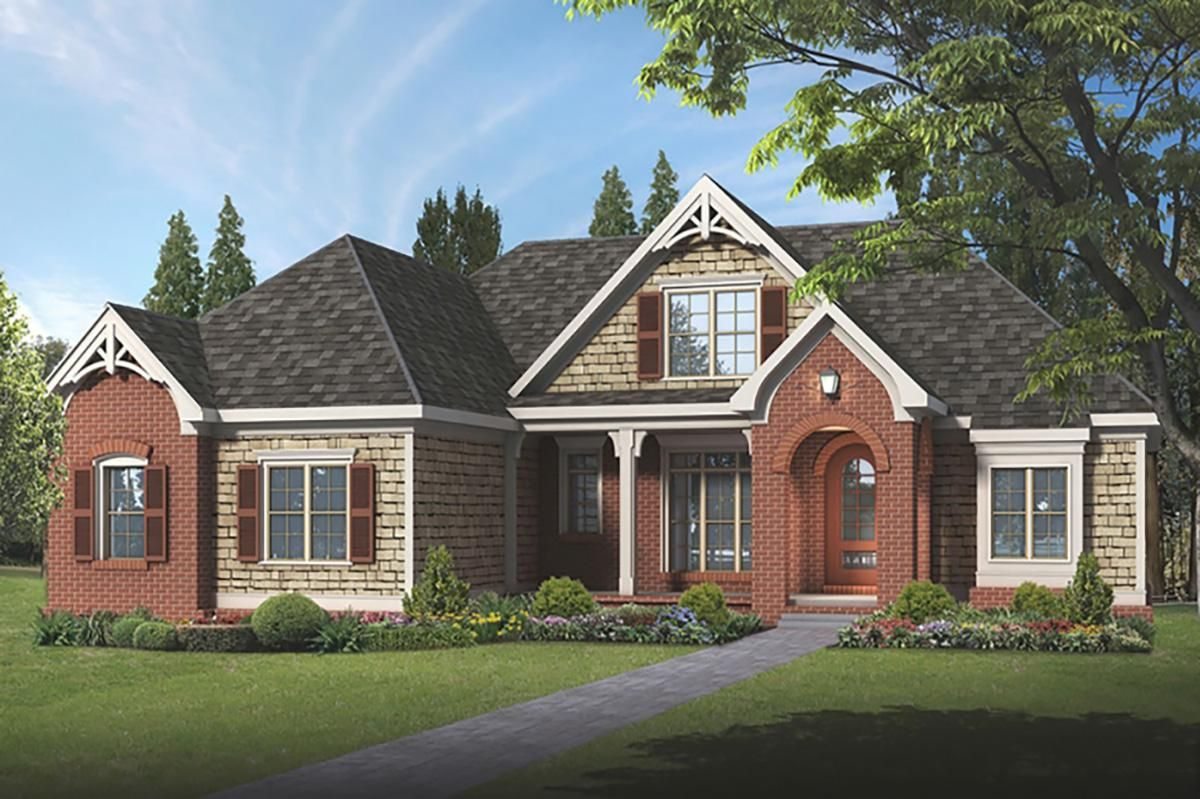 House Plan 859400081 European Plan 2,281 Square Feet