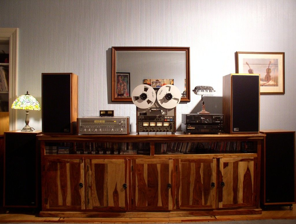A Nice Vintage Hi Fi System With Pioneer Amp And Celestion  # Meuble Hifi Vintage