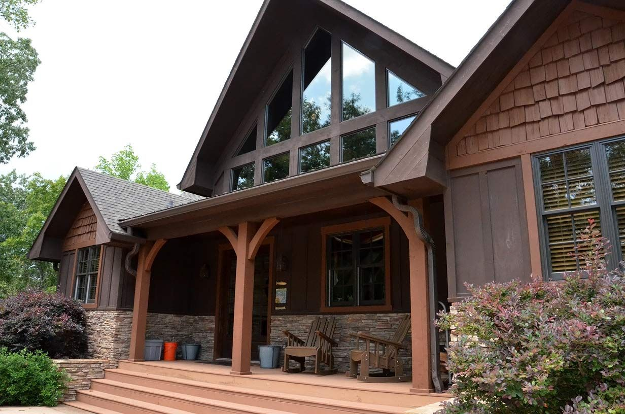 exterior house pictures mountain home exterior house on rustic cabin paint colors id=62890