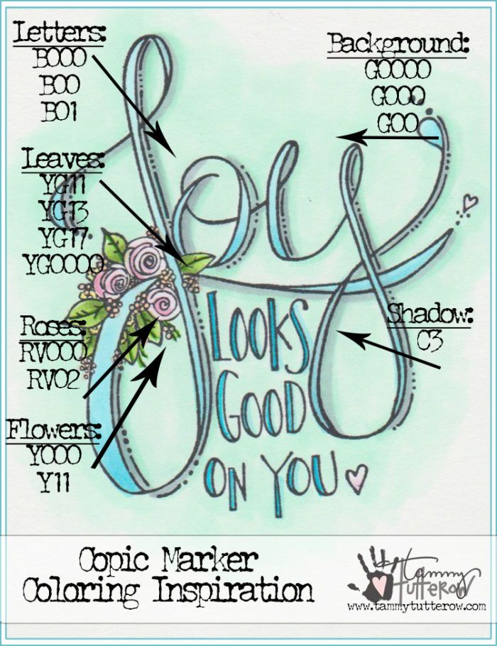 Copic Coloring Inspiration: Joy Looks Good On You | Copic ...