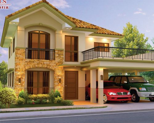 Mission Hills Philippines House Design Philippine Houses Two Story House Design