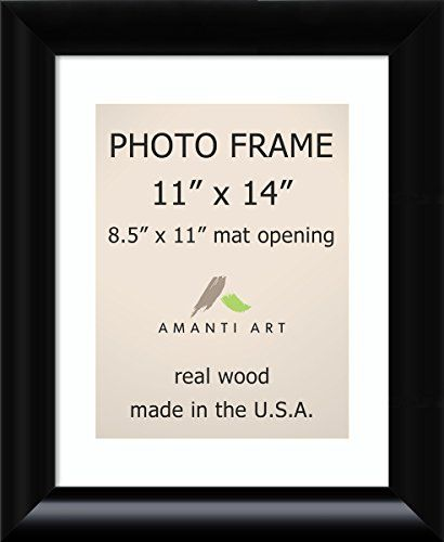 Picture Frame 11x14 Matted To 85x11 Steinway Black Wood Outer Size 14 X 17 Details Can Be Found By Clic Photo Frame Black Picture Frames Black Photo Frames