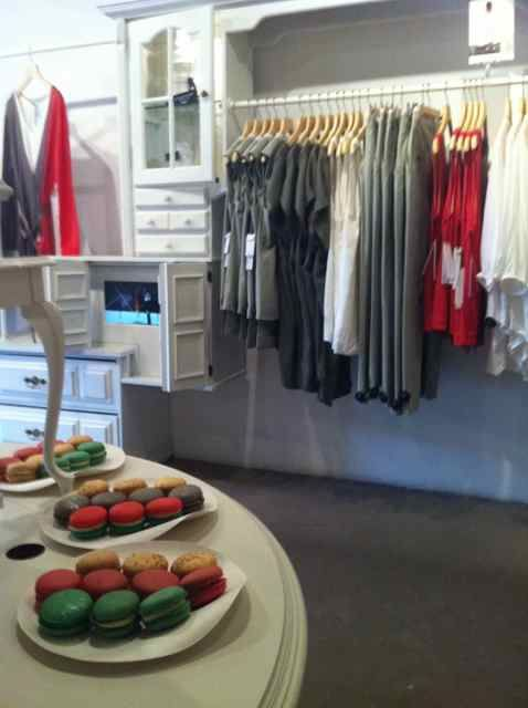 instore fashion event close up of visual merchandising and catering shop ideas pinterest. Black Bedroom Furniture Sets. Home Design Ideas
