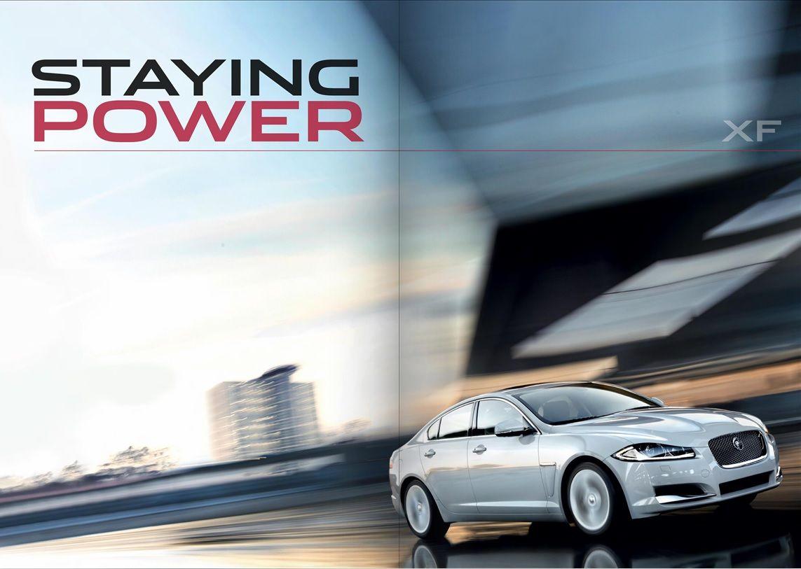 Jaguar Xf Feature In The Lates Jagaur Park Royal Digital Magazine