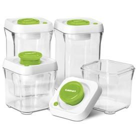 The Cuisinart 4 Piece Shatterproof Storage Containers Because An
