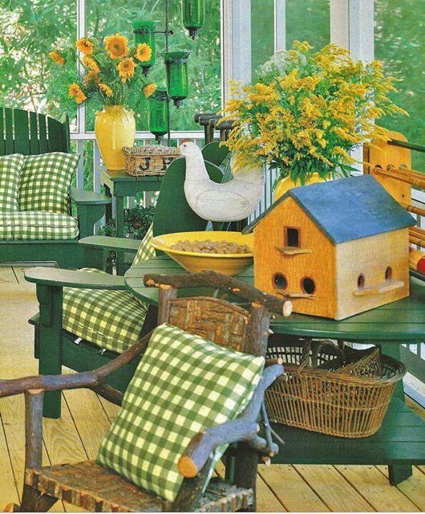 Creative Screened Porch Design Ideas: Summer Porch Decor, Summer Porch, Cottage