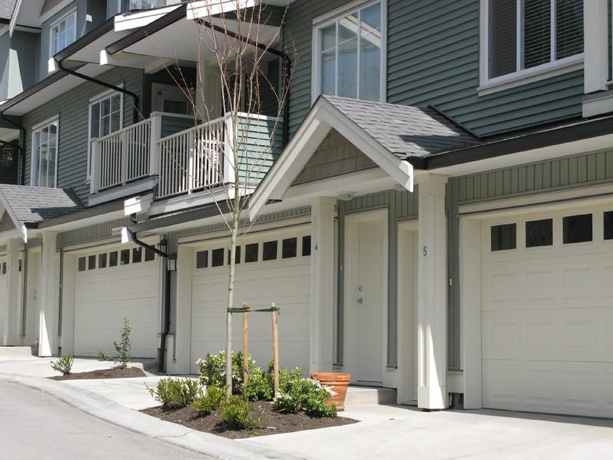 Townhouse And Apartment Garage Doors Underground Parking Gates And Security Systems Vancouver BC & Doors Vancouver \u0026 Vancouver Chocolate Grey 4L Internal Door With ... Pezcame.Com