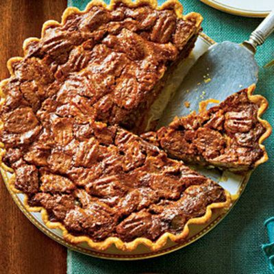 Dazzling Thanksgiving Pies: Chocolate-Caramel Pecan Pie (Best Pie Southern Living)