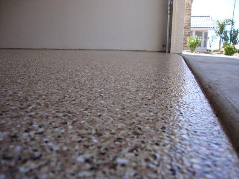 Decorative Chip Concrete Garage Floor Finishes