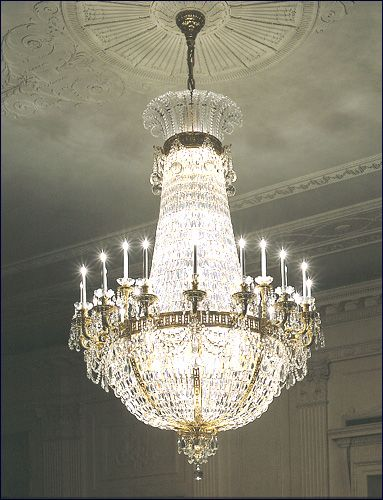 Crystal Chandeliers The White House S Famous Crystal Chandeliers