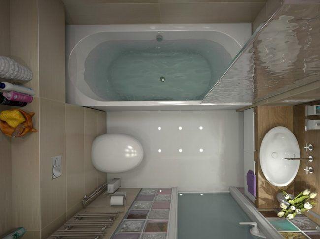 Badezimmergestaltung-kleines-bad-raumplanung-badewanne-glaswand