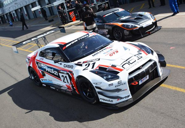 Nissan GT-R NISMO GT3 // Livery design by Jonathan Quintin, via Behance