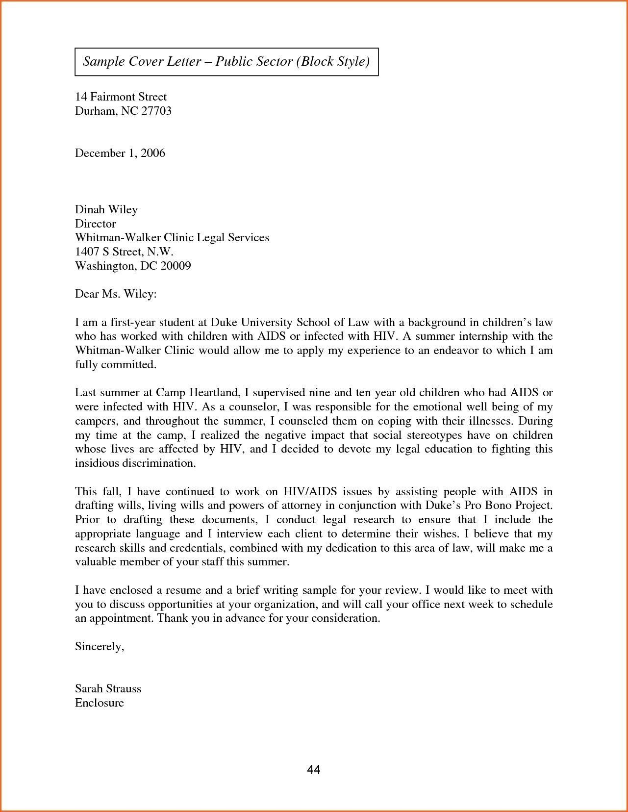 Valid Sample Of Business Letter In Block Style Business Letter