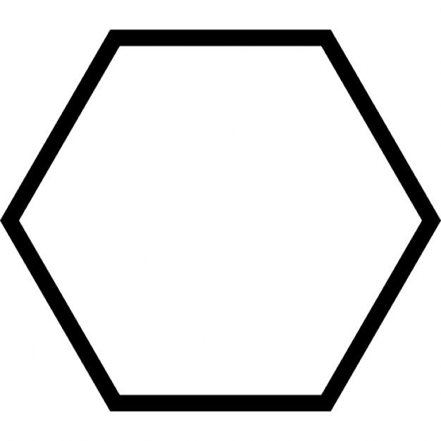 It's just a photo of Handy Printable Hexagon Shape