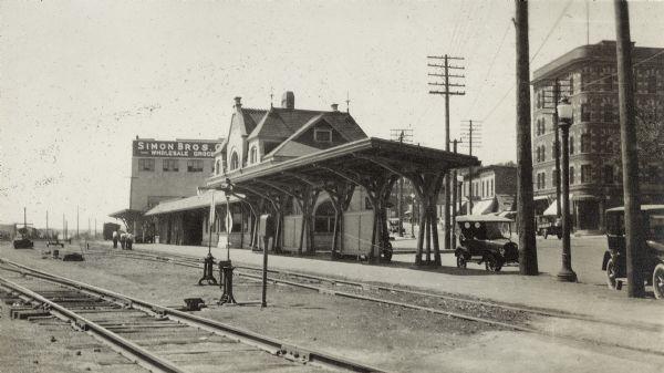 Chicago Milwaukee Amp St Paul East Madison Railroad