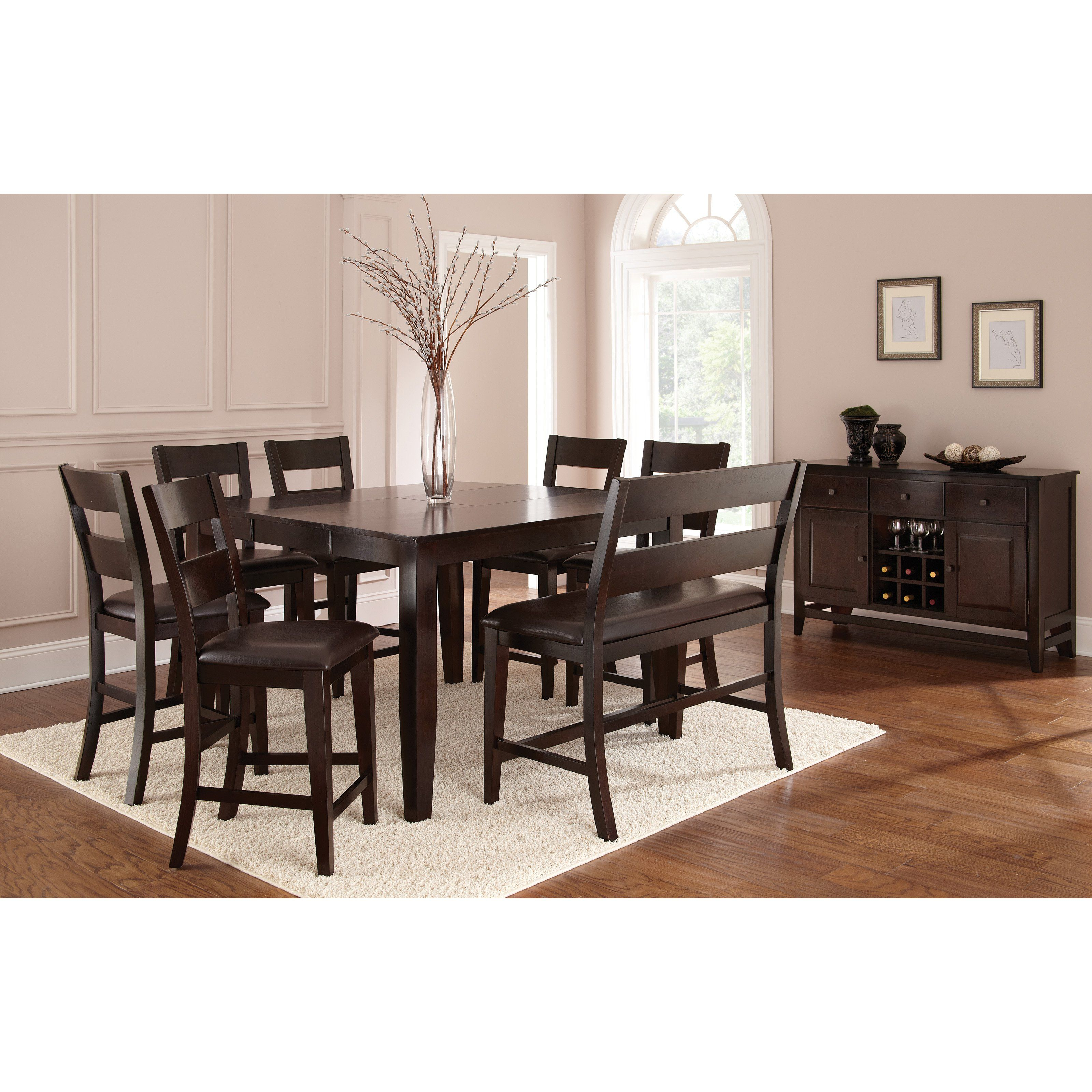 Steve Silver Victoria Counter Height Dining Table   Mango   Distinctive  Dining Starts With Fashionable Focal Points Like The Steve Silver Victoria  Counter ...