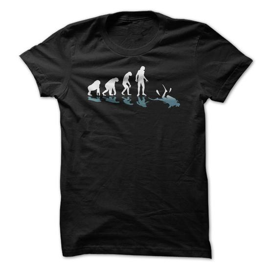 Scuba Diving Evolution Great Gift For Any Diving Fan #tee #fashion