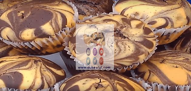 الكب كيك الرخامي Marble Cupcakes Marble