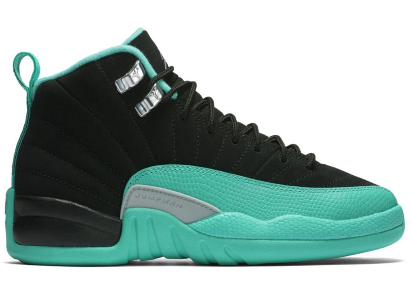1549f8db Check out the Jordan 12 Retro Hyper Jade (GS) available on StockX ...
