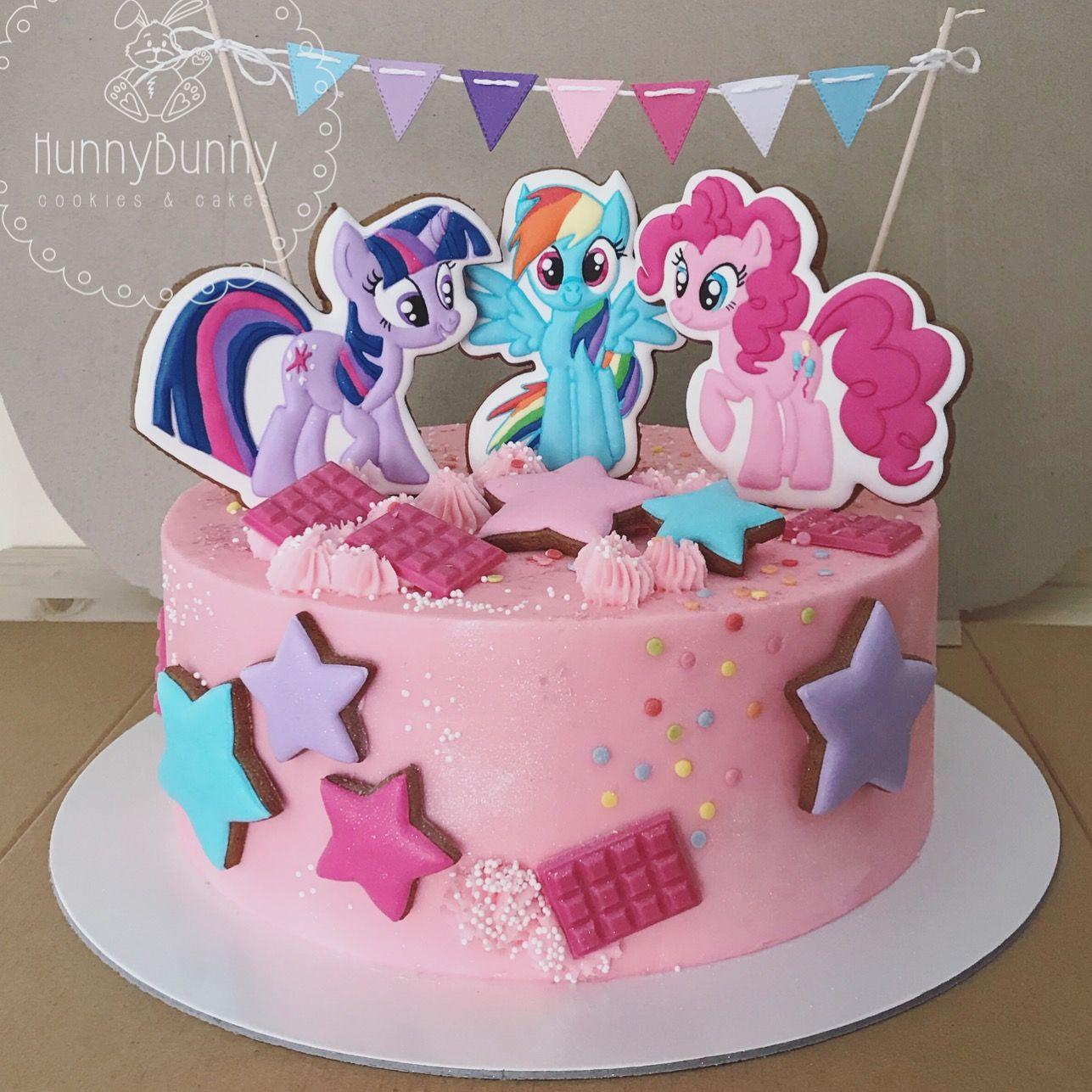 My Little Pony Cake Topers Pinky Pie Rainbow Dash Twilight