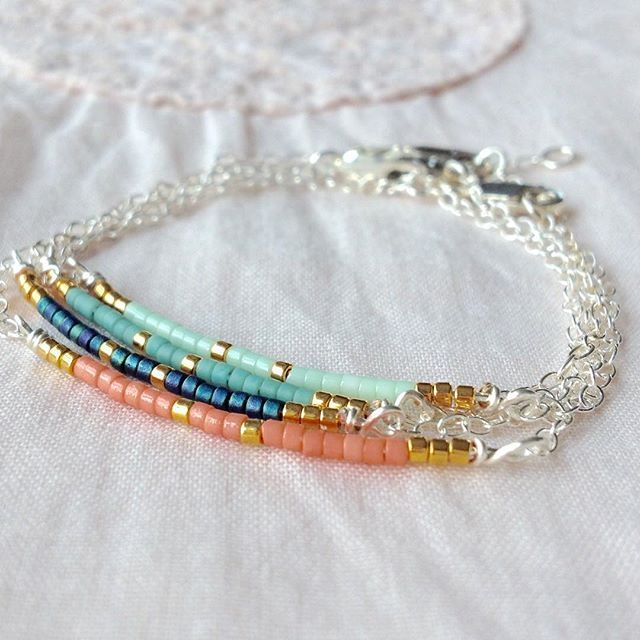 A small collection  #bracelet #bracelets #miyuki #delica #delicate #ukhandmade #supporthandmade #shopsmall #stackingbracelets #layering #jewelrytrends #sterlingsilver #etsyshop #lukh #want #etsyfeatures #etsywins #summer #planning #outfit
