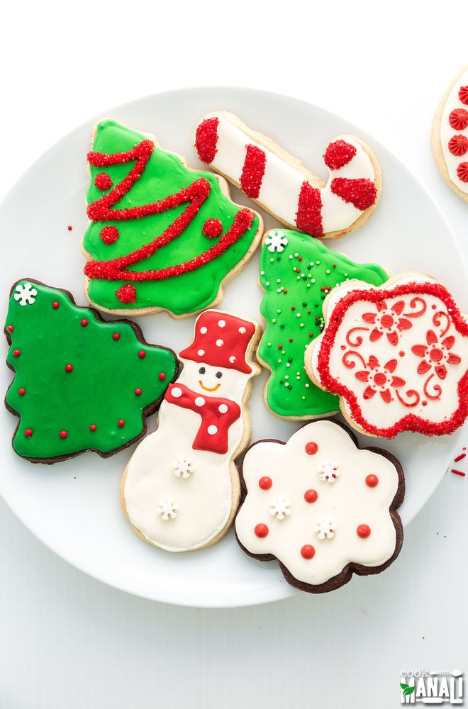 Marvelous Holiday Sugar Cookie Decorating Ideas Part - 8: Christmas Sugar Cookies Simple And Fun Cookie Decorating Ideas For Christmas!  Find The Recipe On