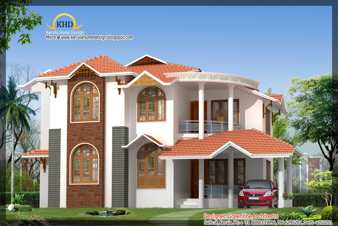 Beautiful indian houses beautiful home design 1751 sq for Beautiful houses in india
