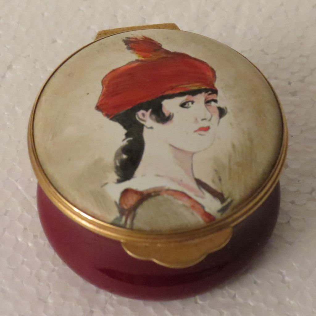 Toye Kenning and Spencer Limited Edition Enamel Box made for