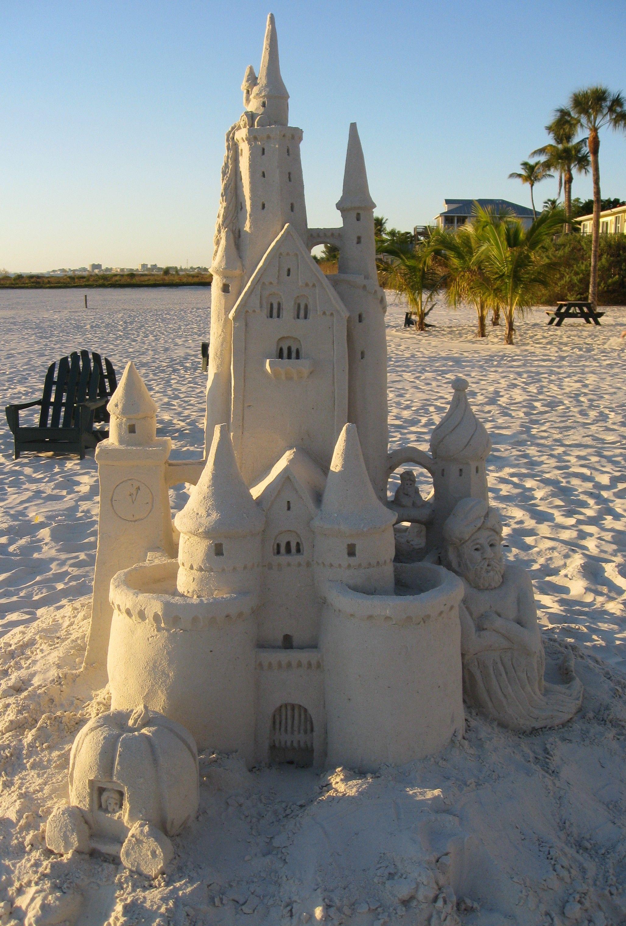 Ft Myers Beach Fl Sand Castle