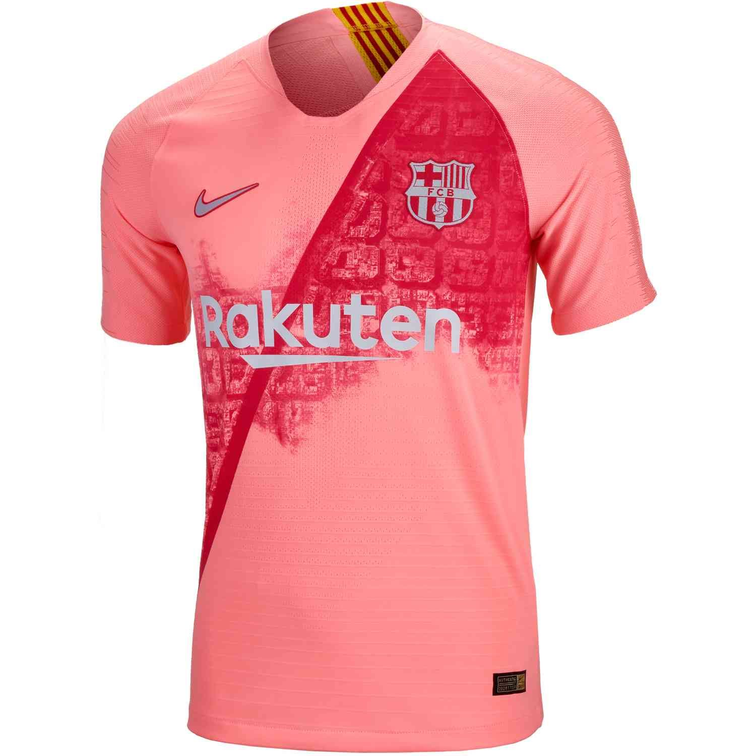 2843d8efa3 2018 19 Nike FC Barcelona 3rd Match Jersey. Buy it from www.soccerpro