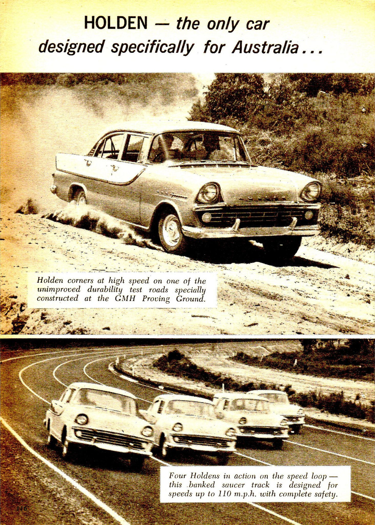 1960 FB Holden Special Lang Lang Proving Ground Page 1 Aussie ...