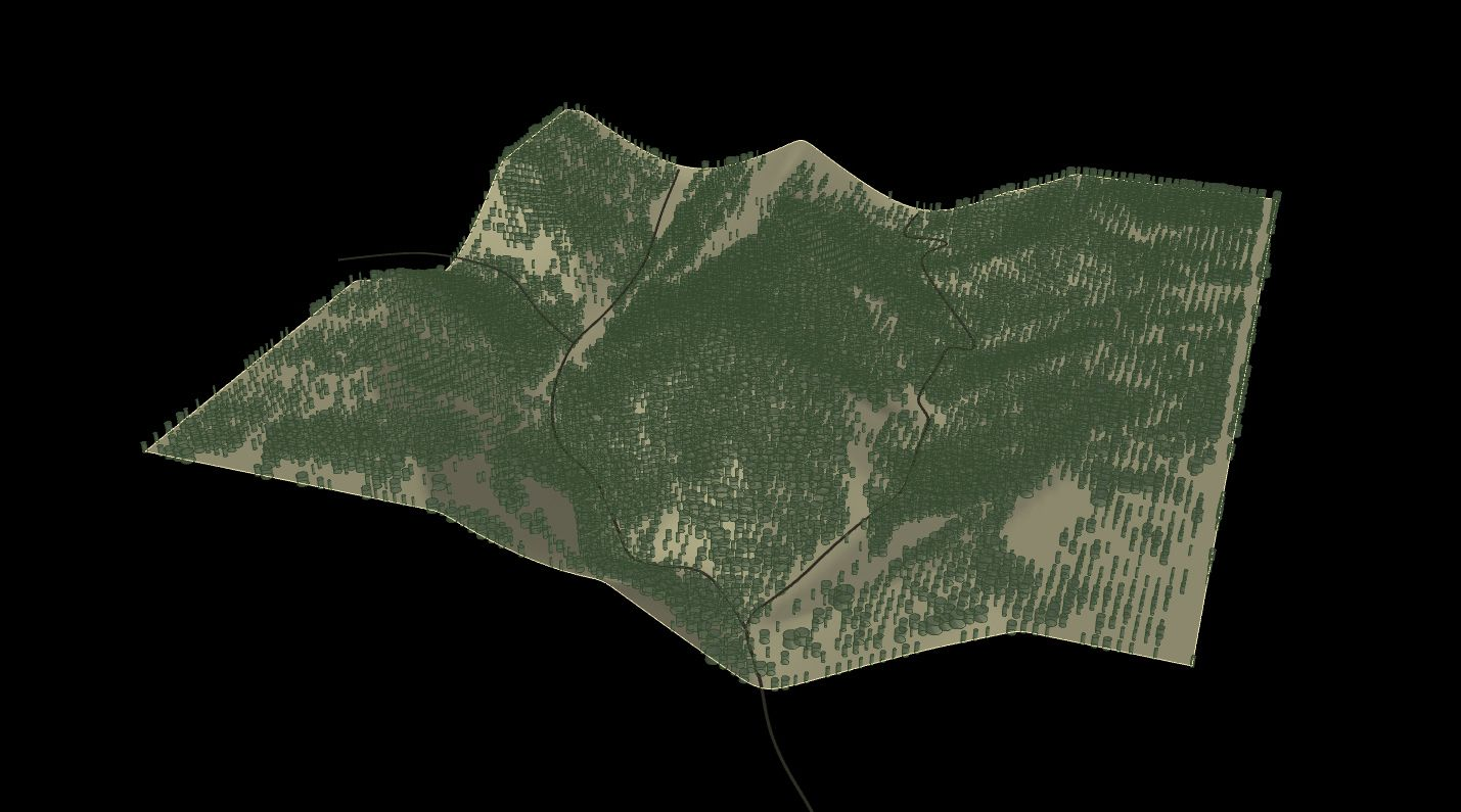 terrain with usgs data in grasshopper free definition download and tutorials