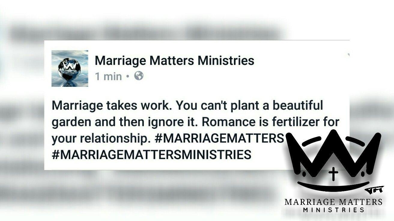 #MARRIAGEMATTERS #MARRIAGEMATTERSMINISTRIES