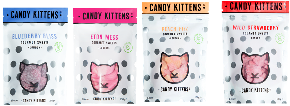 Special Offer Candy Kittens Sharing Treat Bags Ex Works In 2020 Gourmet Sweets Candy Kittens