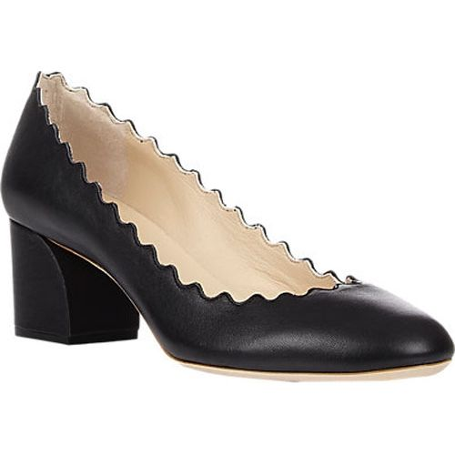0f50deef088 CHLOÉ Laura Scallop Pumps black Chloe Shoes