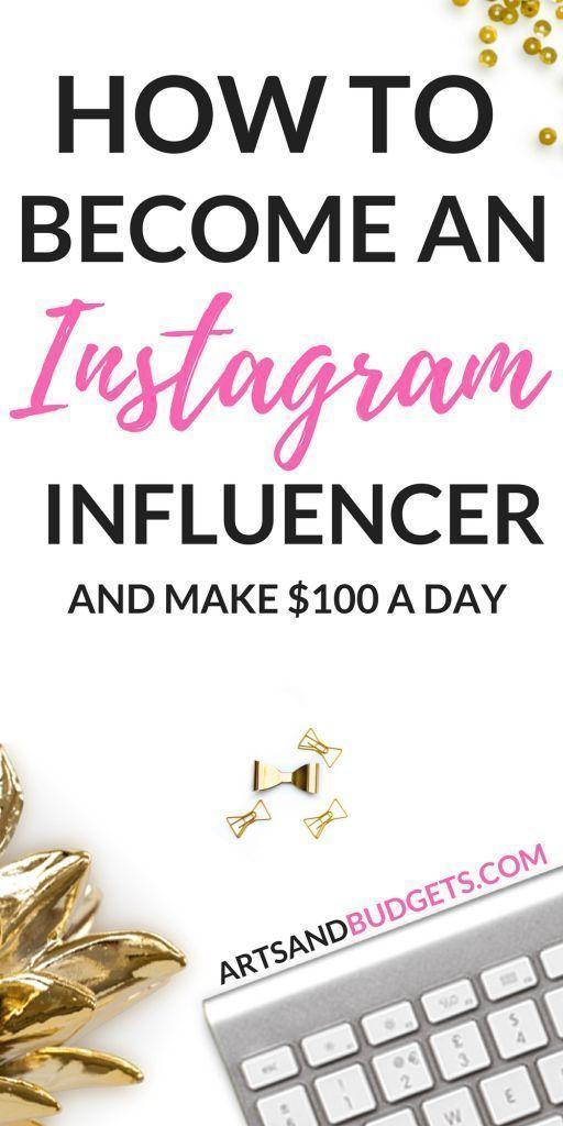 Wie man ein Instagram-Influencer wird und von zu Hause aus Geld verdient   – Social media influencer