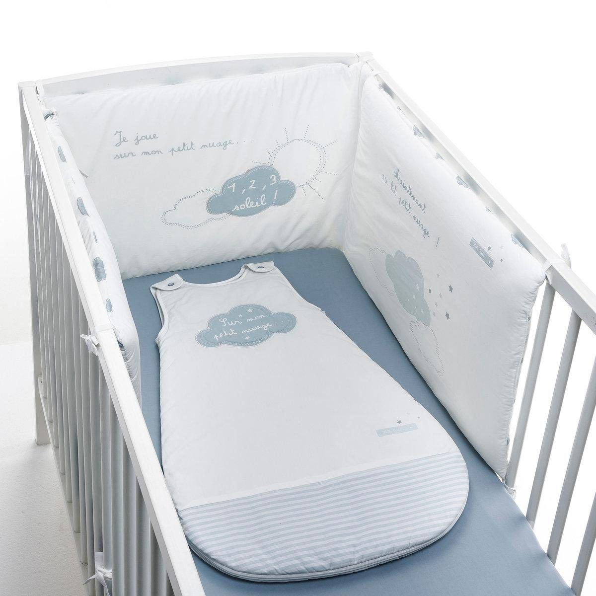 tour de lit sur mon petit nuage r baby la redoute. Black Bedroom Furniture Sets. Home Design Ideas